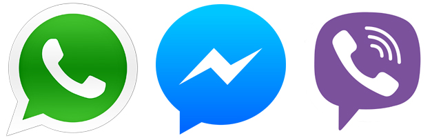 whatsapp viber messenger